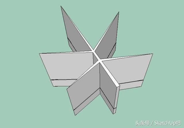 唯美楓葉景觀雕塑SketchUp如何建模? - 每日頭條