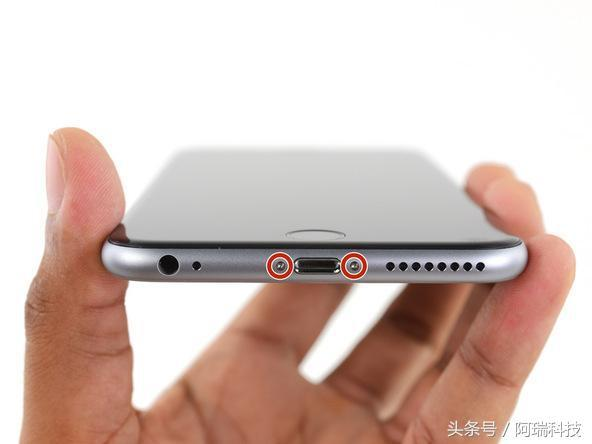 iphone 6s plus 換電池詳細步驟圖解 - 每日頭條