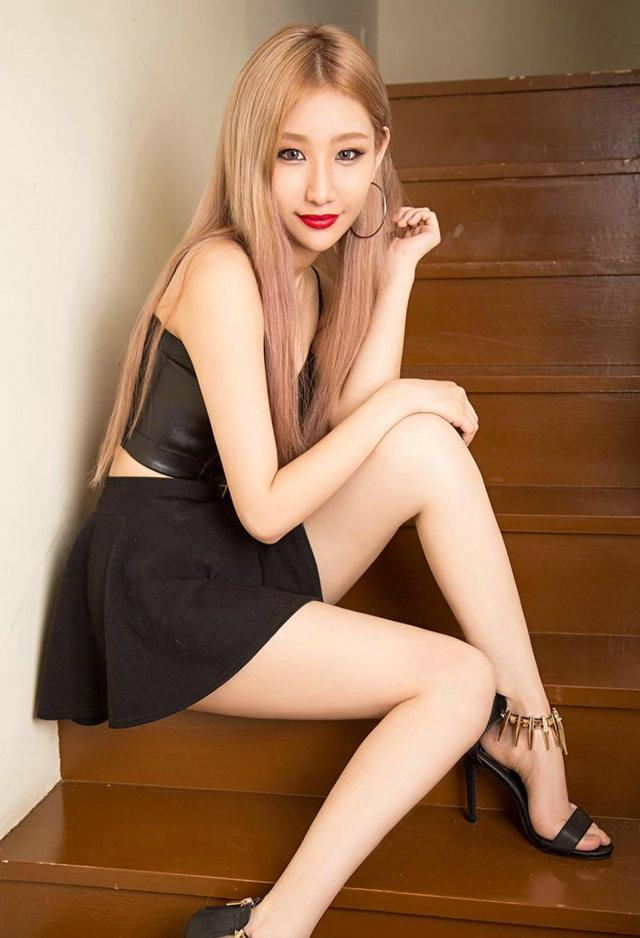 熱 韓國金髮性感模特,堪比歐美的野性美 - 每日頭條