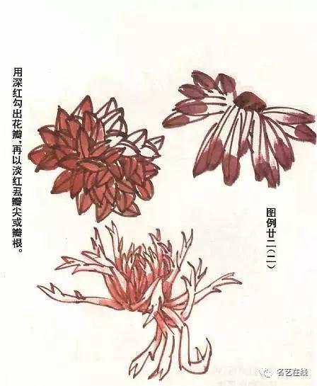國畫技法:如何畫菊花 - 每日頭條