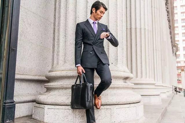 魅力男人必知的單排扣和雙排扣西裝指南 - 每日頭條