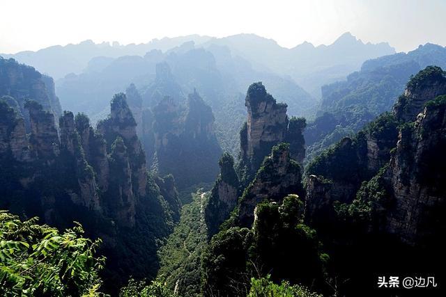 瀟湘行:張家界「迷魂臺」景色讓人神魂癡迷的地方 - 每日頭條