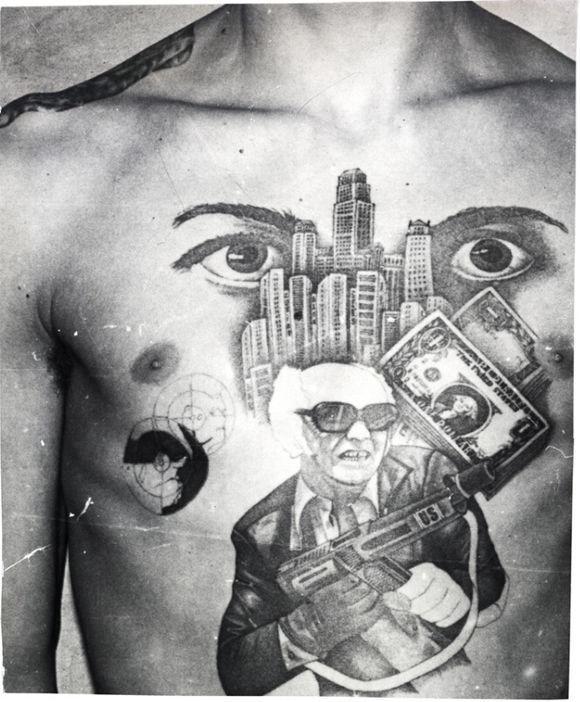 紋身文化,前蘇聯監獄紋身百科圖鑑 - 每日頭條