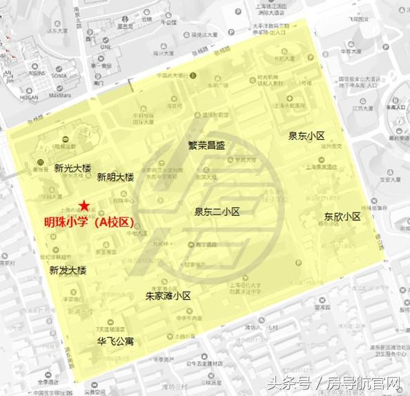 上海房價最抗跌的住宅分布地圖 - 每日頭條