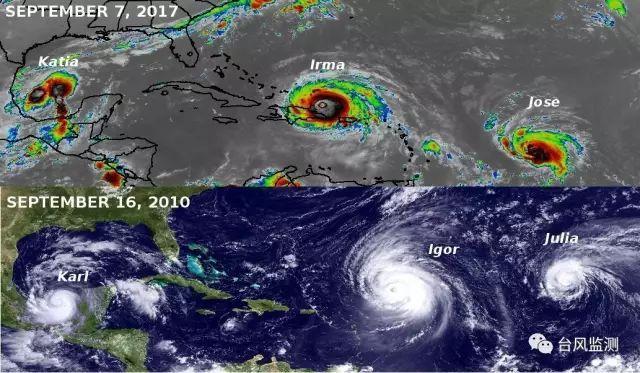 世界颶風「艾瑪」將重創美國東南沿海 它到底有多強? - 每日頭條