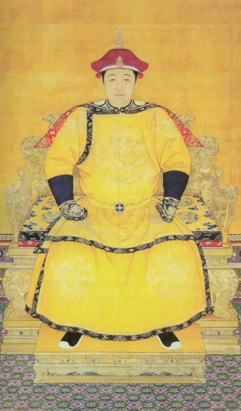 大清王朝歷代皇帝官方肖像。威嚴而不失華貴 - 每日頭條