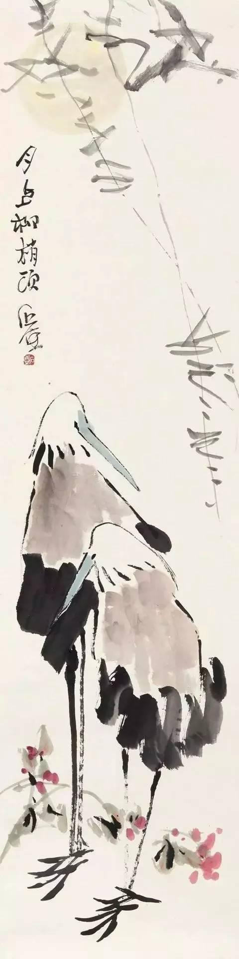 看看被譽為「中國的梵谷」,「畫壇怪傑」的國畫家陳瘋子的鳥兒 - 每日頭條