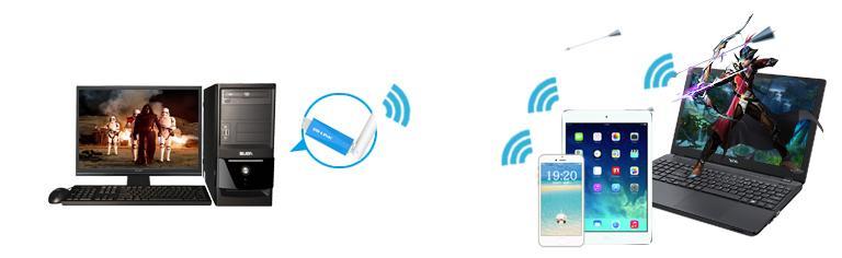 必聯免驅無線網卡BL-H1—桌上型電腦WiFi上網全靠它! - 每日頭條