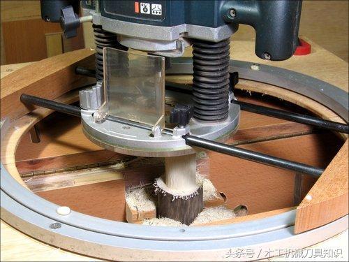 漂流木圓榫頭電木銑夾具 快樂木工活輕鬆製作 - 每日頭條
