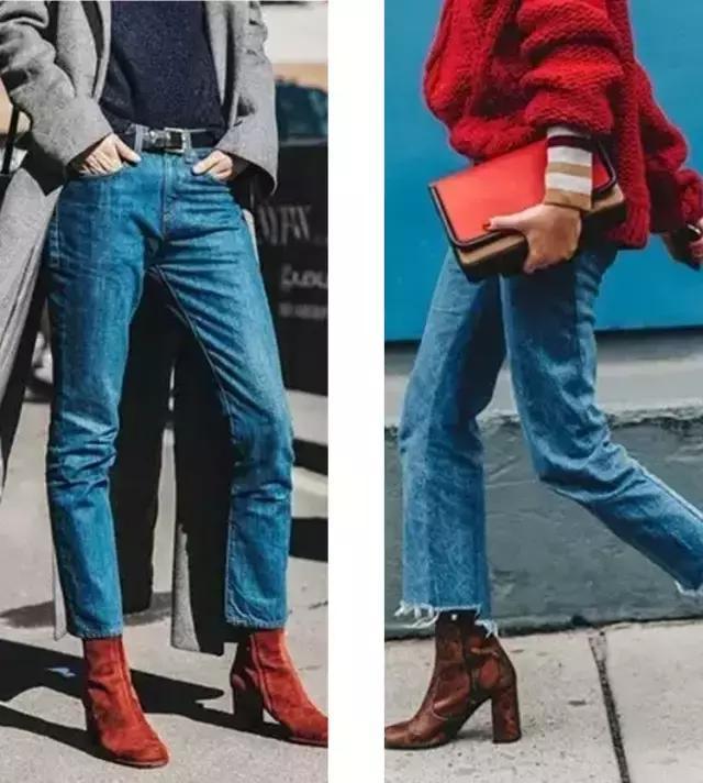 穿了這麼多牛仔褲。還是七分褲最顯腿長! - 每日頭條