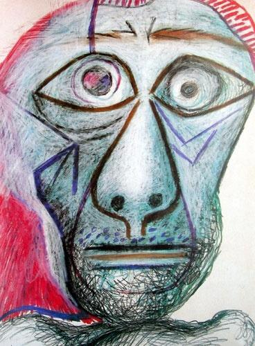 他捐出271幅畢卡索名畫:是朋友。我就不能占有 - 每日頭條