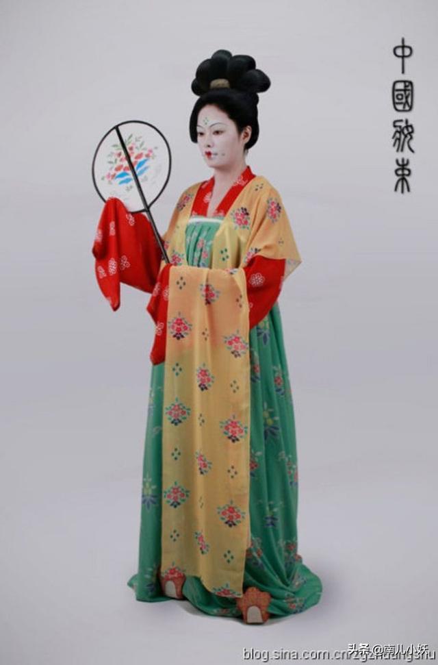 唐朝的時尚就愛大紅大綠,審美好土?唐代生活中最流行的色彩 - 每日頭條