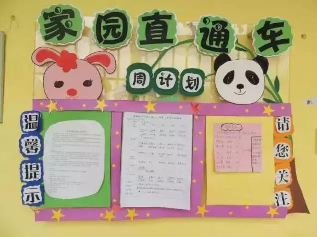 幼兒園室內環創主題牆:家園聯繫欄布置,供新學期幼師們參考! - 每日頭條