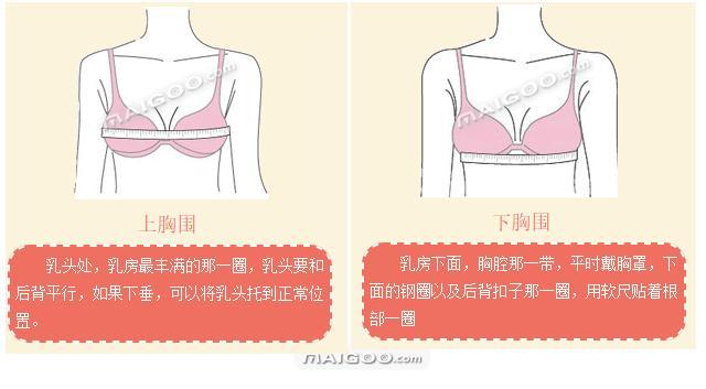 文胸穿挑有講究 學會正確胸圍測量法 別讓內衣毀了好身材 - 每日頭條