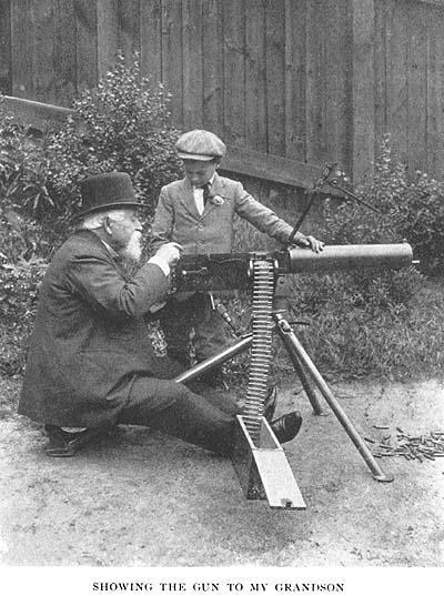 戰爭史上殺人最多的槍械——馬克沁機槍的發展史! - 每日頭條