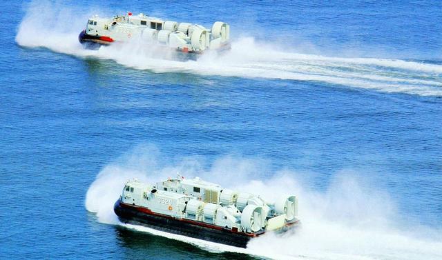 中國海軍高速登陸沖灘利器 國產726型氣墊登陸艇又已開始批產 - 每日頭條