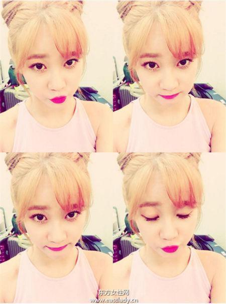 適合染金髮的7位韓國女星,有你家的女神嗎? - 每日頭條