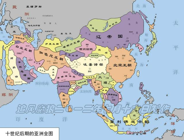 公元10世紀世界歷史大事記:唐帝國落幕,阿拉伯分裂,契丹崛起 - 每日頭條
