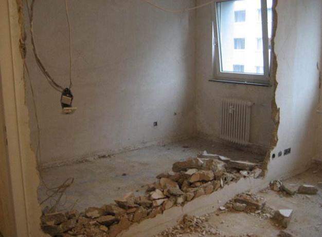 裝修時哪些牆不能打。裝修砸牆注意事項 - 每日頭條