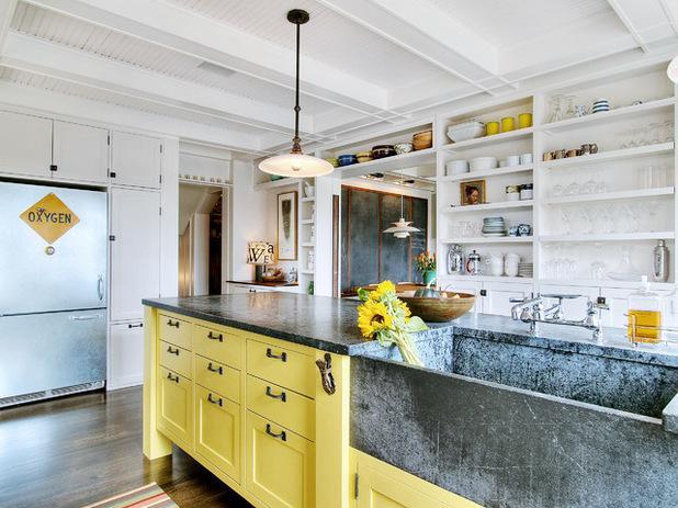 farmhouse kitchen faucet best countertops 农舍风格的水槽应该配哪种水龙头 每日头条 农舍厨房龙头