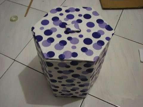 廢舊紙箱廢物利用 手工製作垃圾桶圖解 - 每日頭條