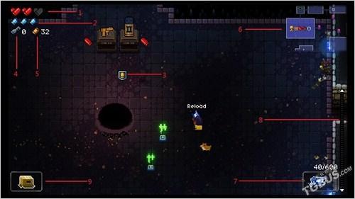 《挺進地牢》評測 優質的彈幕地牢探險RPG - 每日頭條