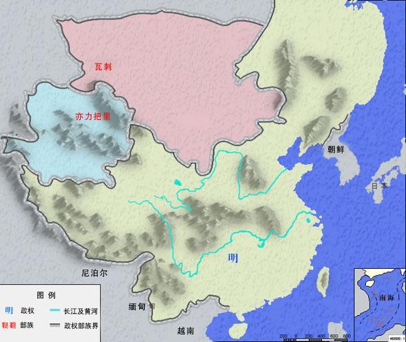 中國地圖各朝代的演變! - 每日頭條