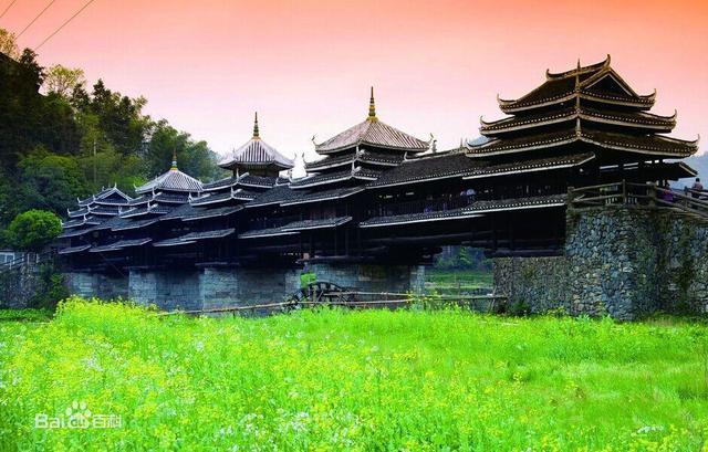 廣西柳州三江侗寨,程陽風雨橋遊記 - 每日頭條