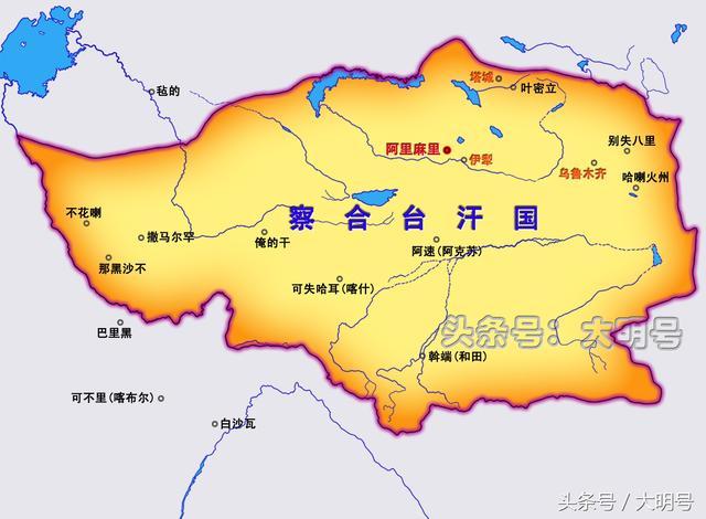 蒙古四大汗國分別是如何滅亡的?察合臺汗國一直延續到17世紀 - 每日頭條