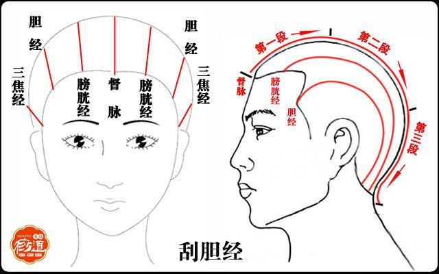 頭部刮痧:頭痛頭暈、眼睛乾澀、無精打采。這一招就能解決! - 每日頭條