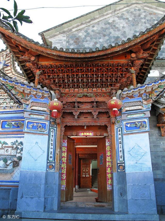 建築文化:雲南白族傳統民居。我國古民居建築藝術的一大景觀 - 每日頭條
