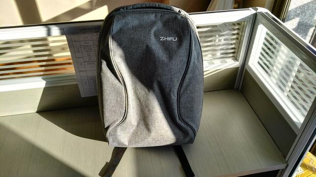 ZHIFU極簡一體防盜背包——人在旅途背包體驗測評 - 每日頭條