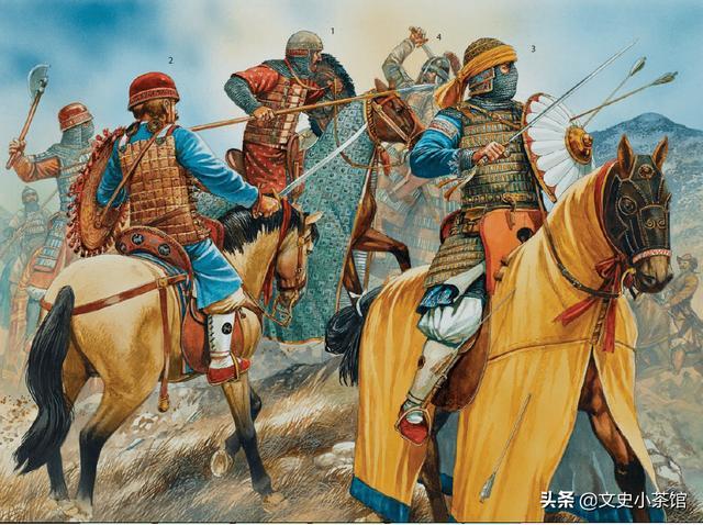 蒙古騎兵對非洲騎兵——草原帝國西征的最後一場戰鬥! - 每日頭條