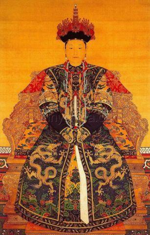 史上最全!清朝皇后畫像錦集 - 每日頭條