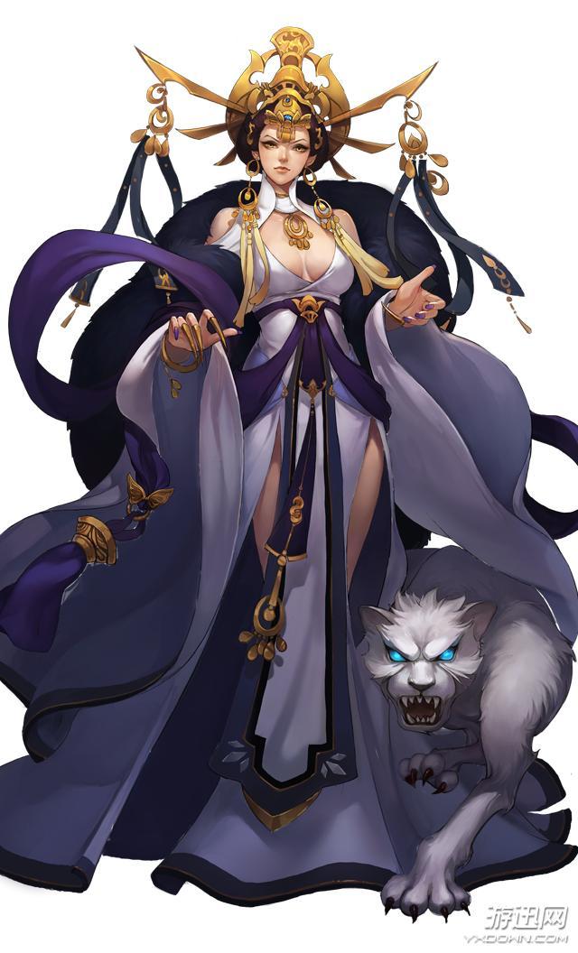 中國古代神話女神,除了嫦娥你還知道哪些? - 每日頭條