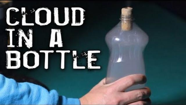 塑料瓶中也可以製造雲朵?看到最後大家都想去嘗試一下 - 每日頭條