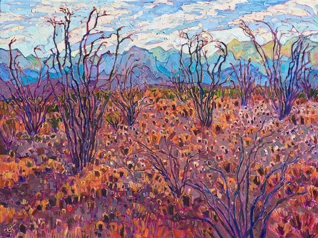 開方式印象派:美國藝術家艾琳·漢森油畫欣賞 - 每日頭條