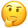 Thinking Face Emoji 🤔