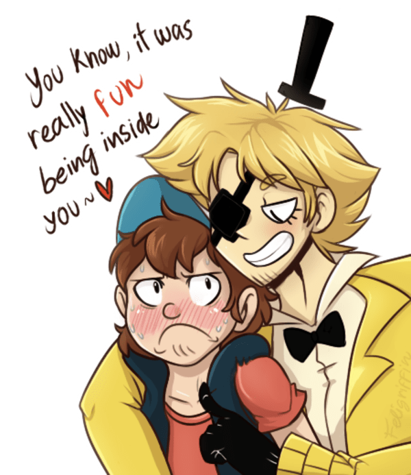 Cipher Dipper Bill X Gravity Falls Lemon