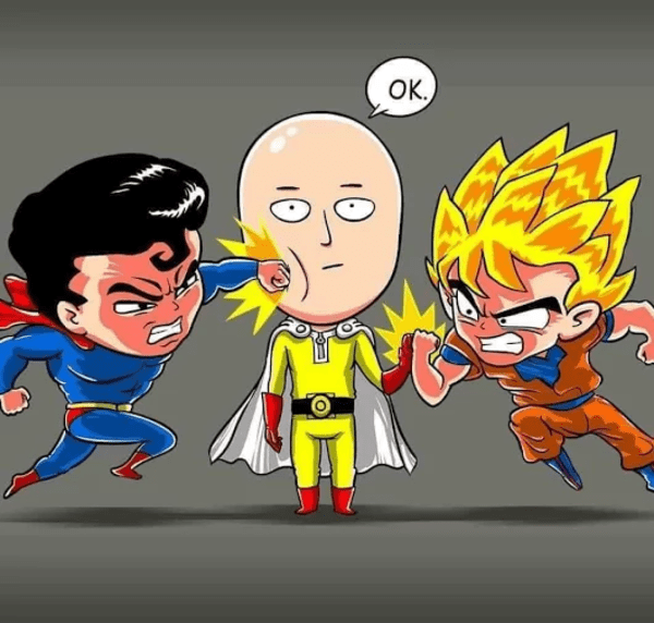 Every Time You See A Who Would Win Fight One Punch Man