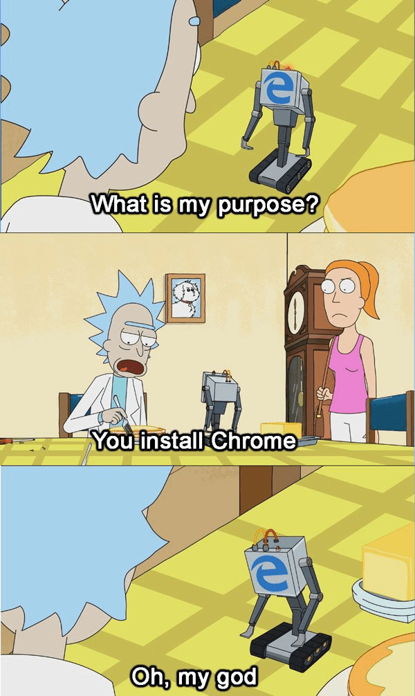 What Is My Purpose Rick And Morty Know Your Meme