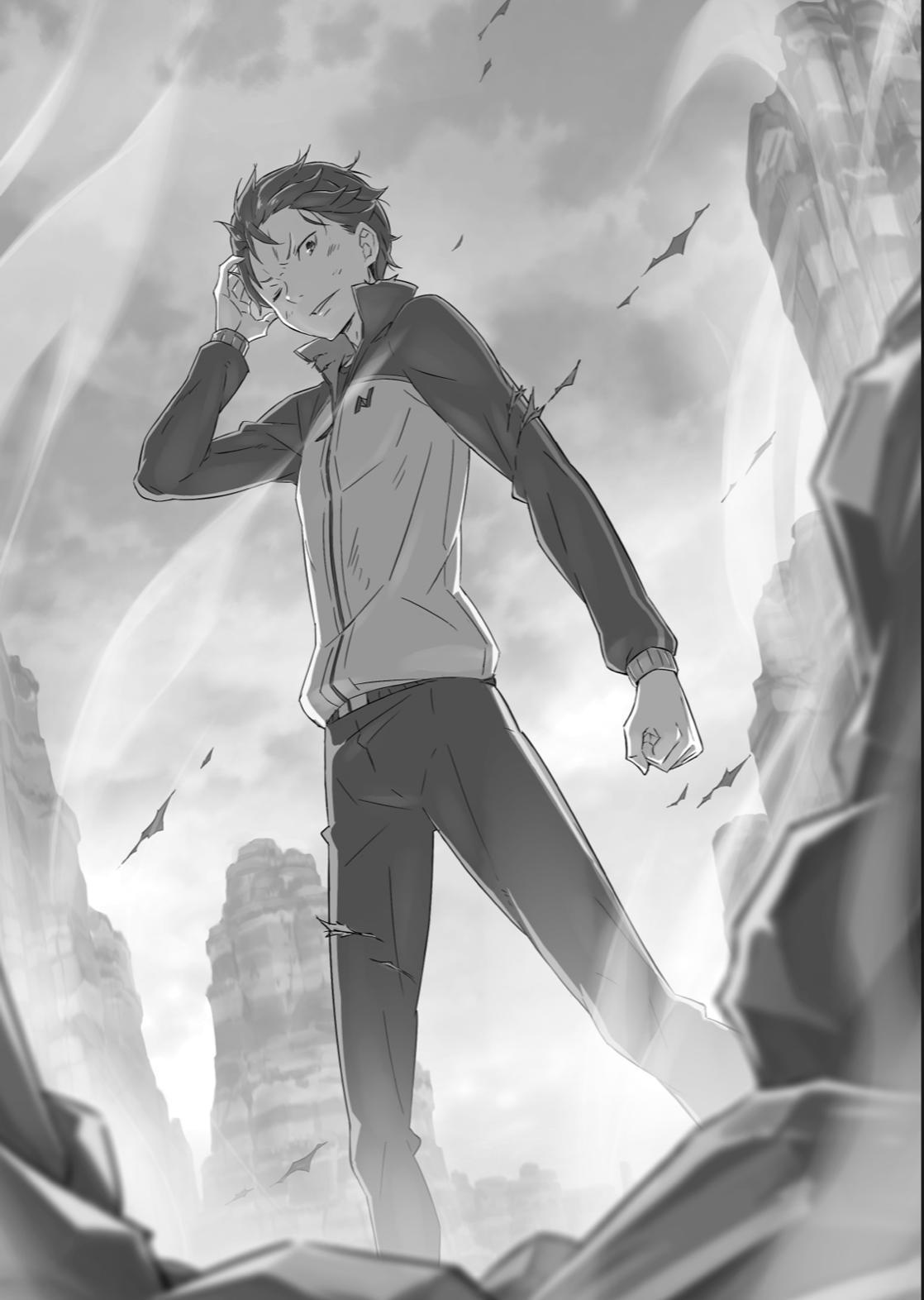 Re Zero Light Novel
