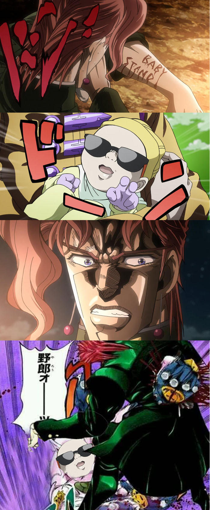 Kakyoin vs Achtung Baby  JoJos Bizarre Adventure  Know