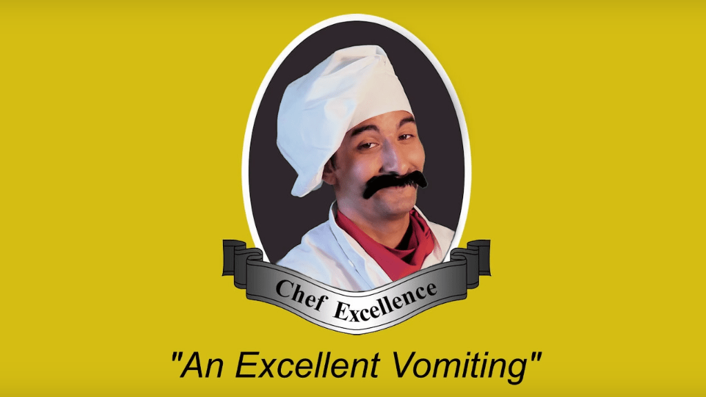 An Excellent Vomiting  Chef Excellence ('an Excellent X