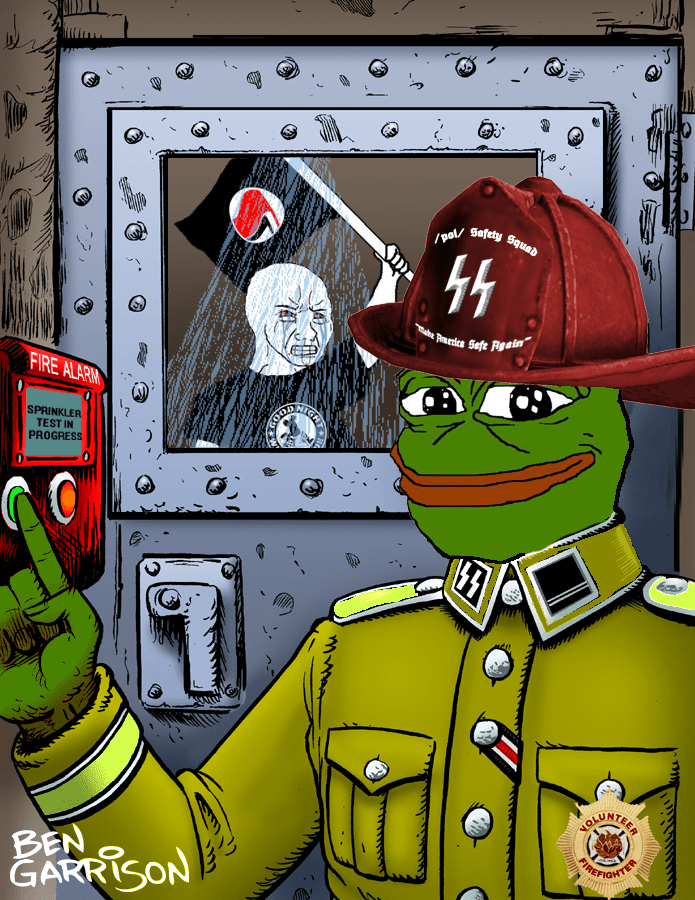 Sprinkler Test Chamber  4chan Safety Squad Raids  Know