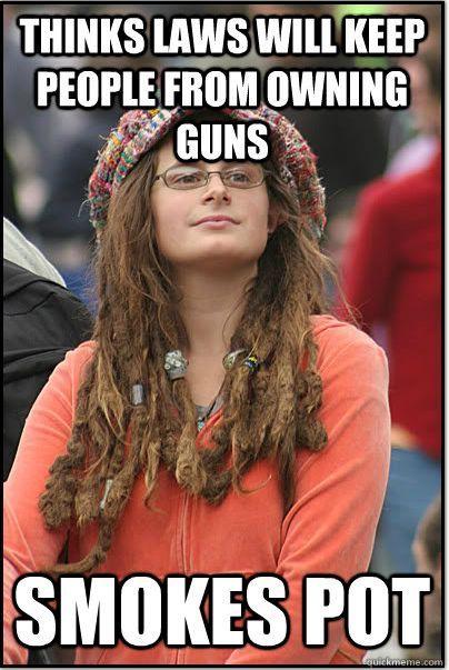 Gun control College Liberal Know Your Meme