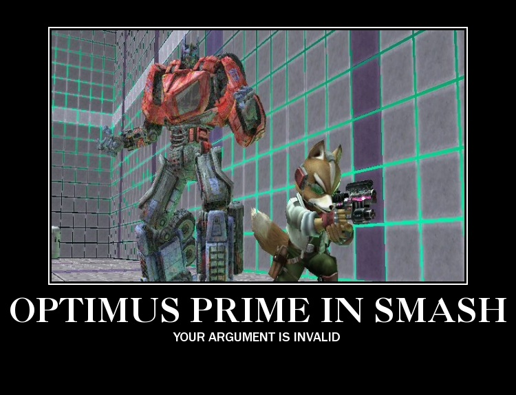 Transformers Fall Of Cybertron Wallpaper Optimus Prime Has The Touch Super Smash Brothers Know