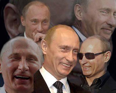 Image result for vladimir putin laughing