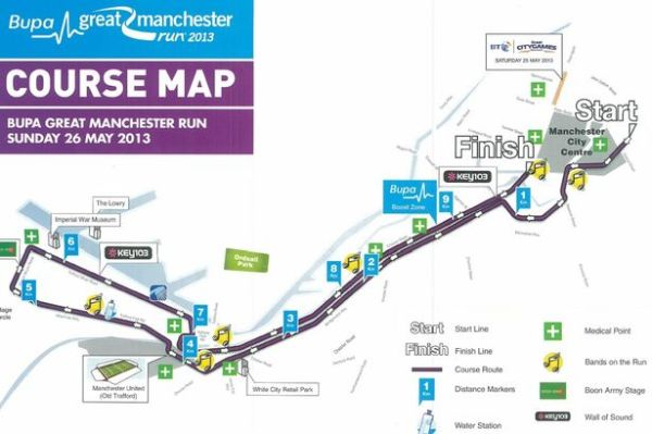 On your marks as plans for weekend of sport in Manchester