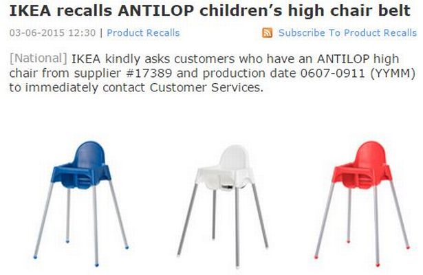 ikea high chair recall stores near me - manchester evening news